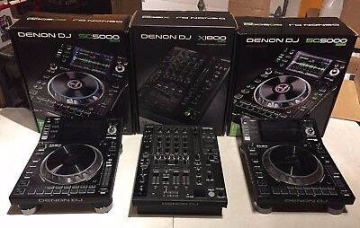 Denon PRIME Package - OPEN BOX SALE! - Includes 2x SC5000 and 1x X1800