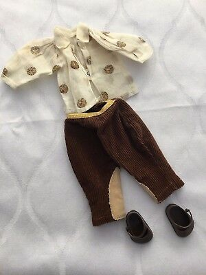 Vintage Vogue Ginny Outfit 1950's Tagged Crayon Blouse and riding pants