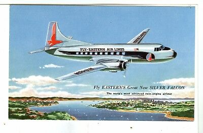 The SILVER FALCON was Built for Eastern by Glenn L. Martin Co, For Dependability