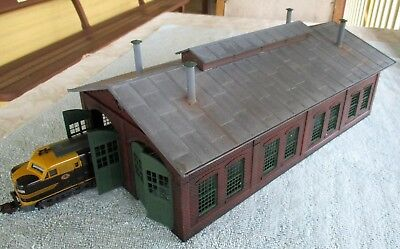Brick Steam or Diesel Locomotive Depot Shed - 2 Track - Kit Build - HO OO