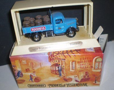 Matchbox Great Beers Models of Yesterday -1939 Bedford Truck  -  TOOHEYS