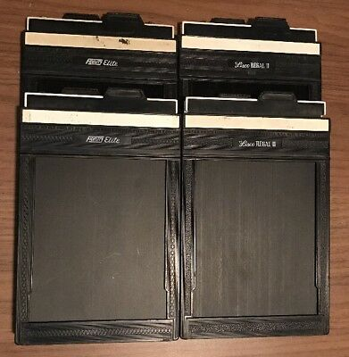 Large Format Film Holders for 4x5 Cut Sheet Film Lisco and Fidelity