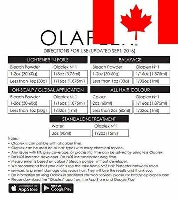 Olaplex Sample Kit Steps 1,2, & 3 Up To 4 Apps