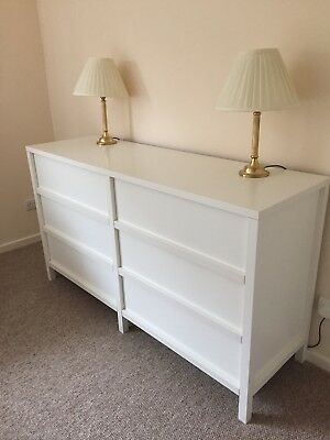 Ikea Large White Chest Of Drawers 6 Drawer
