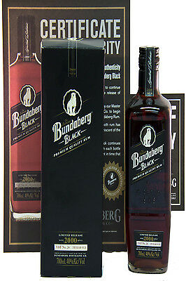 Bundaberg Rum Black Vat No. 26 2000 Limited Release