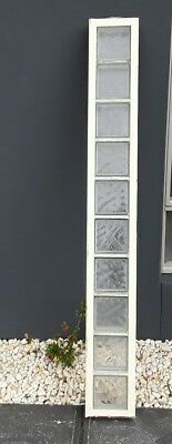 Aluminium window fixed  glass brick,  from new house area, 260 wide x 2040 high