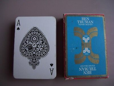 Ben Truman Export Draught Ale Deck Of Playing Cards