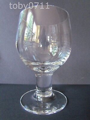 """DARTINGTON CRYSTAL COMPLEAT IMBIBER 6"""" WATER GOBLETS (Ref2441)"""