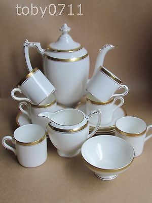 COALPORT BONE CHINA ELITE COFFEE SERVICE FOR 6 (Ref1764)