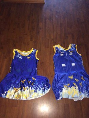 netball - hawks bodysuit x 2 - size womens XL and 24