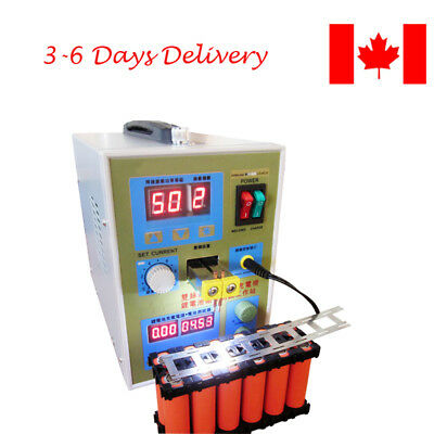 CAN Portable LED Dual Pulse Spot Welder Battery Charger 800A 0.1-0.2 mm 36V 60A
