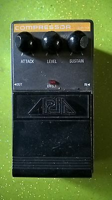 PEDALE COMPRESSEUR ARIA CP 10 VINTAGE COMPRESSOR  annee 1980 made in japan