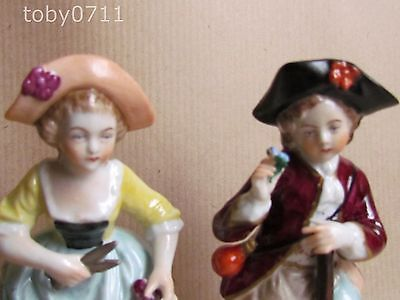 Sitzendorf Porcelain - The Gardeners - Pair Of Figurines