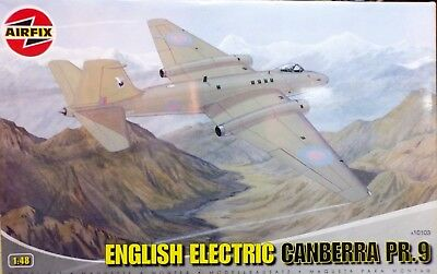 Airfix 1/48 English Electric Canberra PR9