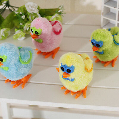 Chicks Wind Up Clockwork Toys Lovely Kids Plush Wind-up Walking Toy Baby Toy HGU