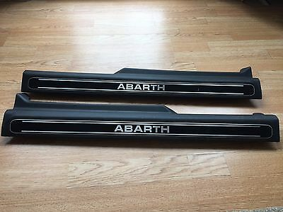 Abarth Punto Evo Kick Plates. Door Trim