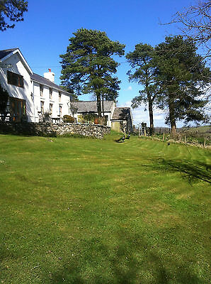 Family Summer Holiday Farmhouse Cottage Carmarthen West Wales Sleeps 14 Hot Tub
