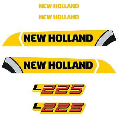 New Holland L223, L225 Decals Stickers Repro Kit