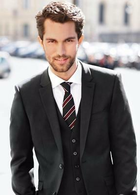 Bespoke 3 Pieces Mens Suits Business Formal Outfits Wedding Party Groom Tuxedos
