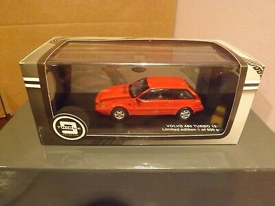 Triple 9 Diecast ...t9-43062..a Volvo 480 Turbo  1987  In Red..new/boxed.