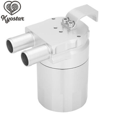 Silver 500ml Racing Oil Catch Tank Can Reservoir for BMW N54 335 335i 535i