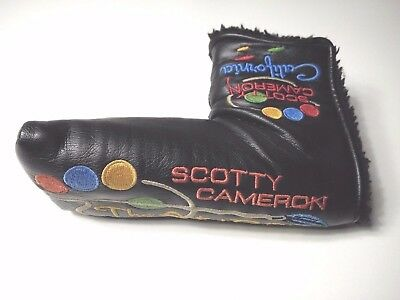 Scotty Cameron California - The Art of Putting Golf Putter Head Cover