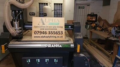 Ply Lining Business For Sale Van Commercial Vehicle Cnc Router Camper Kitchen