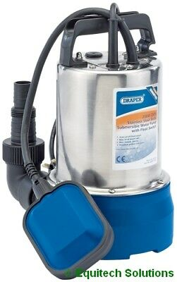 Draper 25359 Submersible Water Pump Automatic Float Switch Stainless 100L/min