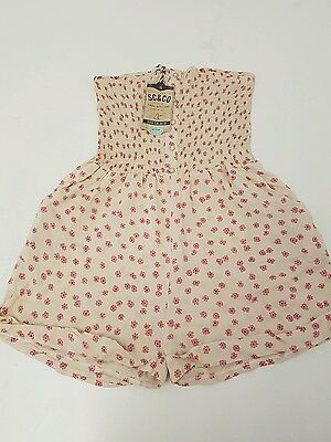 A166 Ladies Soulcal Playsuit size M Good Condition