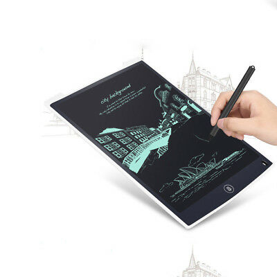 12'' LCD Writing Board Office School Tablet Drawing Graphics NotePad 5 colors