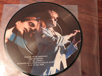 Japan David Sylvian Interview Picture Disc 1981.