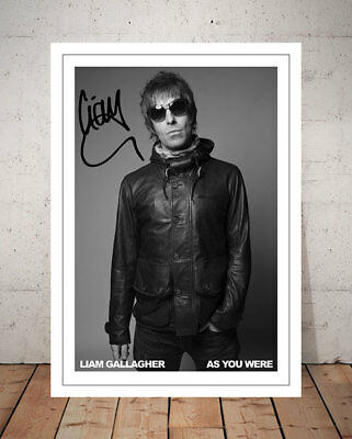 Liam Gallagher As You Were 2017 Autographed Signed Photo Print