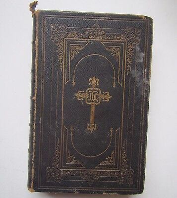 Old 1854 The Holy Bible'