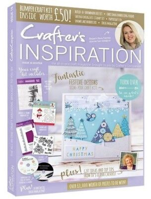 Crafters Inspiration Issue 16 Crafters Companion Winter Edition £50 Free Gifts