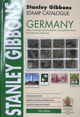 STANLEY GIBBONS - STAMP CATALOGUE PART 7 - GERMANY - 11th EDITION  2015