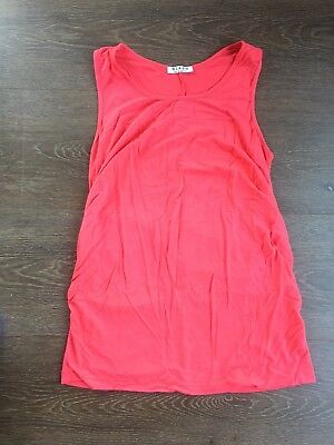 Szabo Size 12 Red Maternity Top
