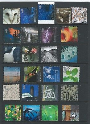 2000 Gb Qeii  Commemoratives The Complete Millenium Collection Of 12 Sets Vfu