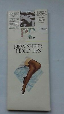 Pretty Polly new sheer nylon Sherry hold ups/stockings One size