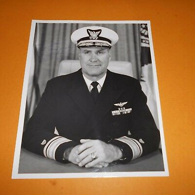 Owen W Siler was a United States Coast Guard admiral Hand Signed Photo