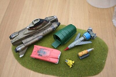 Gerry Anderson Thunderbirds UFO parts product enterprise Skydiver + other bits