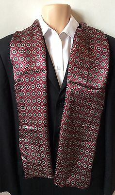 MENS SILK SCARF Gents Necktie Paisley Cravat Smart Accessory Retro Style