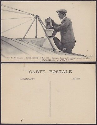 France 1911 - Postcard Aviation