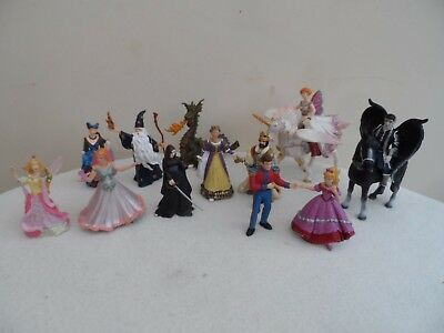 Collection Schleich Papo & Elc Figures King Queen Prince Princess Mtyh & Fantasy