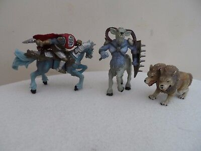 Early Learning Centre Figures Headless Horseman 2 Headed Dog And Goat/horse