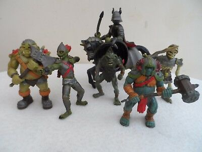 Early Learning Centre & Papo Monsters Ghosts & Ghouls X7 Figures