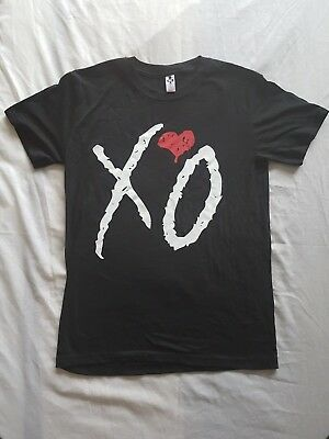 The Weeknd, Starboy 2017 Tour T Shirt, Size L