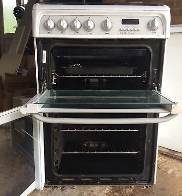 Carrick Cannon Double Oven Cooker- White, 60cm Wide
