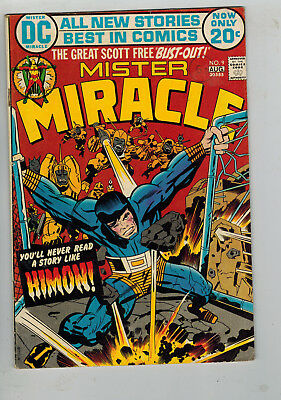 MISTER MIRACE COMIC - 11 issues from No. 9 - DC 1972-1978