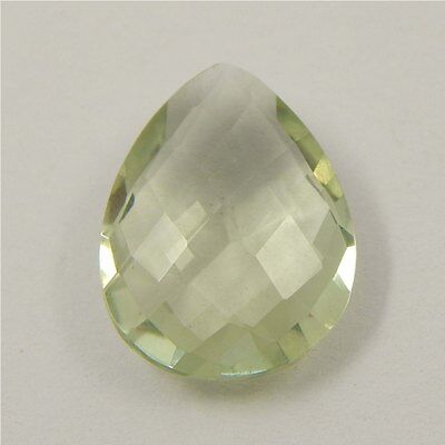 7.7 cts Natural Green Amethyst Gemstone Must See Loose Cut Faceted R#192-16