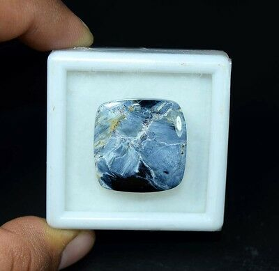 26.35 Cts. 100 % Natural Chatoyant Pietersite Cushion Cabochon Loose Gemstones